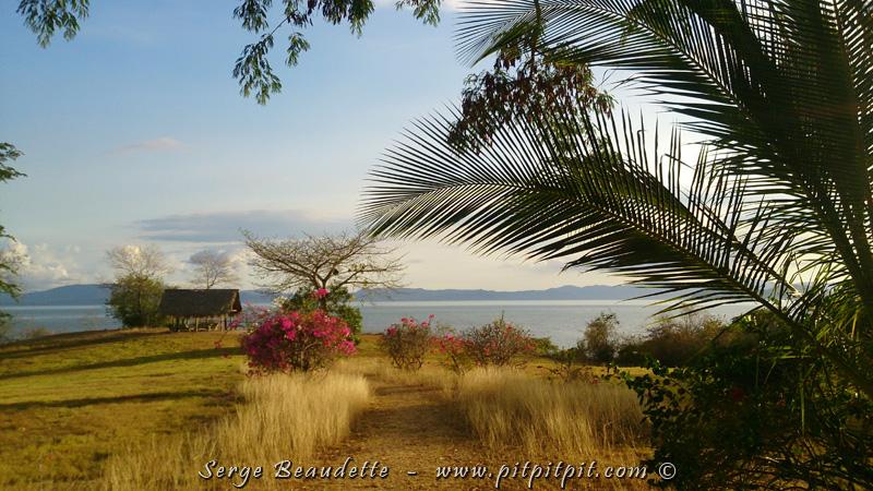 Nous voilà rendu dans notre dernier lieu de séjour, dernière étape… un endroit paradisiaque! …Sur le bord du Golfe de Nicoya, attenant au Pacifique…